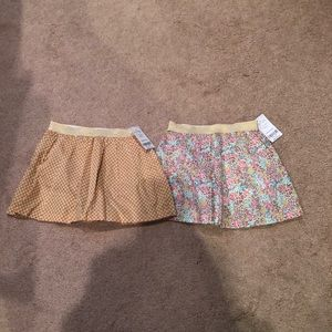 Skirts w/ built in bloomers brand new